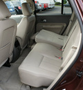 ford edge 2009 dk  red suv limited gasoline 6 cylinders all whee drive automatic with overdrive 08753