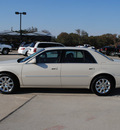 cadillac dts 2011 white sedan gasoline 8 cylinders front wheel drive automatic 76087