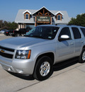 chevrolet tahoe 2011 silver suv flex fuel 8 cylinders 2 wheel drive automatic 76087