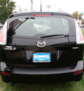mazda mazda5 2009 black van sport gasoline 4 cylinders front wheel drive automatic 07702
