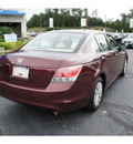 honda accord 2008 basque red sedan lx gasoline 4 cylinders front wheel drive 5 speed automatic 07724