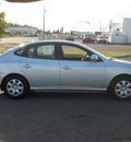 hyundai elantra 2009 silver sedan gls gasoline 4 cylinders front wheel drive manual 99208