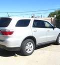 dodge durango 2012 silver sxt gasoline 6 cylinders all whee drive automatic 80301