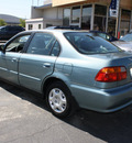 honda civic 2000 blue sedan ex gasoline 4 cylinders front wheel drive 5 speed manual 94063
