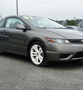honda civic 2007 dk  gray coupe si gasoline 4 cylinders front wheel drive 6 speed manual 27569