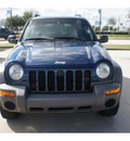 jeep liberty 2004 blue suv sport gasoline 6 cylinders rear wheel drive automatic 77090
