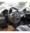 mitsubishi lancer 2011 tarmac black sedan es gasoline 4 cylinders front wheel drive automatic 07724