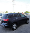 acura mdx 2009 lt  blue suv awd gasoline 6 cylinders all whee drive automatic with overdrive 60462