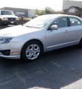 ford fusion 2010 silver sedan se gasoline 4 cylinders front wheel drive automatic 14224