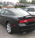 dodge charger 2012 black sedan r t road and track gasoline 8 cylinders rear wheel drive 5 speed automatic 62863