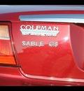 mercury sable 2005 burgundy sedan gs flex fuel 6 cylinders front wheel drive automatic 75570
