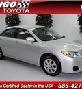 toyota camry 2011 silver sedan le gasoline 4 cylinders front wheel drive automatic 91731