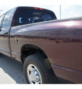 dodge ram pickup 2500 2004 dk  red pickup truck slt diesel 6 cylinders rear wheel drive automatic 77388