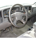 chevrolet silverado 1500 2004 silver pickup truck ls gasoline 8 cylinders rear wheel drive automatic 77388