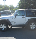jeep wrangler 2010 silver suv sport gasoline 6 cylinders 4 wheel drive automatic 99212