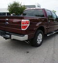 ford f 150 2009 red xlt flex fuel 8 cylinders 2 wheel drive 6 speed automatic 46168