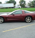 chevrolet corvette coupe 2003 maroon coupe gasoline v8 rear wheel drive automatic 17972