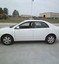 toyota corolla 2007 white sedan le gasoline 4 cylinders front wheel drive automatic 75503
