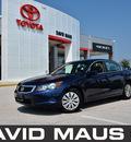 honda accord 2010 blue sedan lx gasoline 4 cylinders front wheel drive automatic 32771