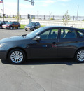 subaru impreza 2008 dk  gray wagon i w sat nav awd gasoline 4 cylinders all whee drive 5 speed manual 55420