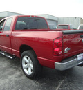 dodge ram 1500 2008 red pickup truck big horn ed  gasoline 8 cylinders rear wheel drive automatic 60443