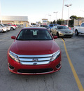 ford fusion 2012 red sedan sel awd flex fuel 6 cylinders all whee drive automatic with overdrive 60546