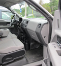 ford f 150 2008 gray pickup truck styleside gasoline 8 cylinders 4 wheel drive automatic with overdrive 13350