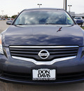 nissan altima 2009 dk  gray sedan 2 5 s gasoline 4 cylinders front wheel drive automatic 76018