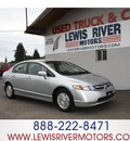 honda civic 2007 silver sedan hybrid hybrid 4 cylinders front wheel drive automatic 98674