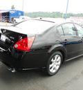 nissan maxima 2008 black sedan gasoline 6 cylinders front wheel drive cont  variable trans  98032