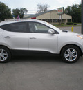 hyundai tucson 2011 silver gasoline 4 cylinders all whee drive automatic 13502