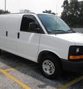 chevrolet express cargo 2011 white van 2500 flex fuel 8 cylinders rear wheel drive automatic 34474