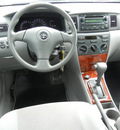 toyota corolla 2007 silver sedan le gasoline 4 cylinders front wheel drive not specified 55391