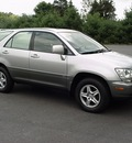 lexus rx 300 2002 silver suv awd gasoline 6 cylinders all whee drive automatic 06019