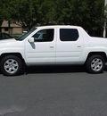 honda ridgeline 2007 white pickup truck rtl w navi gasoline 6 cylinders all whee drive automatic 06019