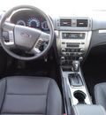 ford fusion 2012 blue sedan sel flex fuel 6 cylinders front wheel drive automatic with overdrive 60546