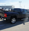 chevrolet silverado 1500 2009 dk  blue pickup truck lt gasoline 8 cylinders 2 wheel drive automatic 76108