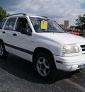 suzuki vitara 1999 white suv jx gasoline 4 cylinders dohc 4 wheel drive automatic 61008