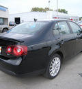 volkswagen jetta 2008 black sedan wolfsburg gasoline 4 cylinders front wheel drive automatic 46219