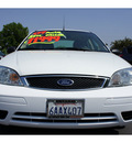 ford focus 2007 white sedan zx4 s gasoline 4 cylinders front wheel drive automatic 91761