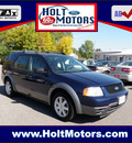 ford freestyle 2005 dk  blue wagon se gasoline 6 cylinders front wheel drive cont  variable trans  55321