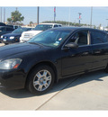 nissan altima 2006 black sedan 2 5 sl gasoline 4 cylinders front wheel drive 4 speed automatic 77090