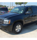 chevrolet tahoe 2011 black suv lt flex fuel 8 cylinders 2 wheel drive 6 speed automatic 77090
