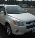 toyota rav4 2010 white suv limited gasoline 6 cylinders 4 wheel drive 5 speed automatic 99208