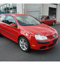 volkswagen rabbit 2008 red hatchback s pzev gasoline 5 cylinders front wheel drive automatic 08016
