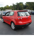 volkswagen rabbit 2008 red hatchback s pzev gasoline 5 cylinders front wheel drive automatic 08016