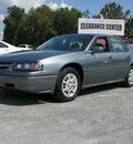 chevrolet impala 2004 gray sedan gasoline 6 cylinders front wheel drive automatic 27569