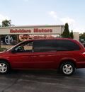 dodge grand caravan 2005 red van sxt gasoline 6 cylinders front wheel drive automatic 61008