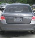 honda accord 2009 gray sedan lx gasoline 4 cylinders front wheel drive automatic 33884