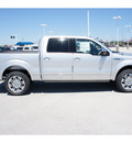 ford f 150 2011 silver platinum flex fuel 8 cylinders 2 wheel drive automatic 77388
